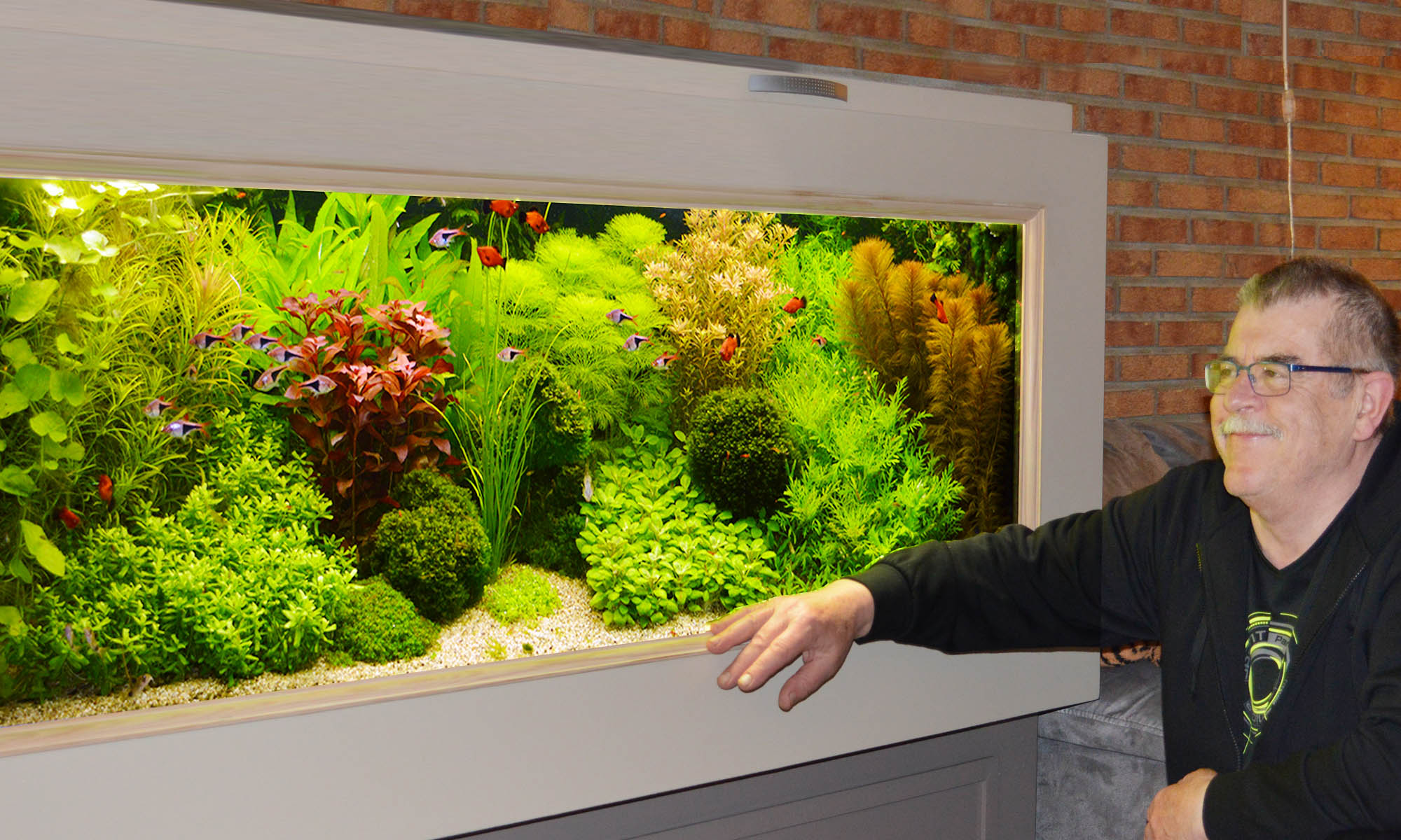 Welkom op de website van Willem van Wezel uw Aquarium-adviseur